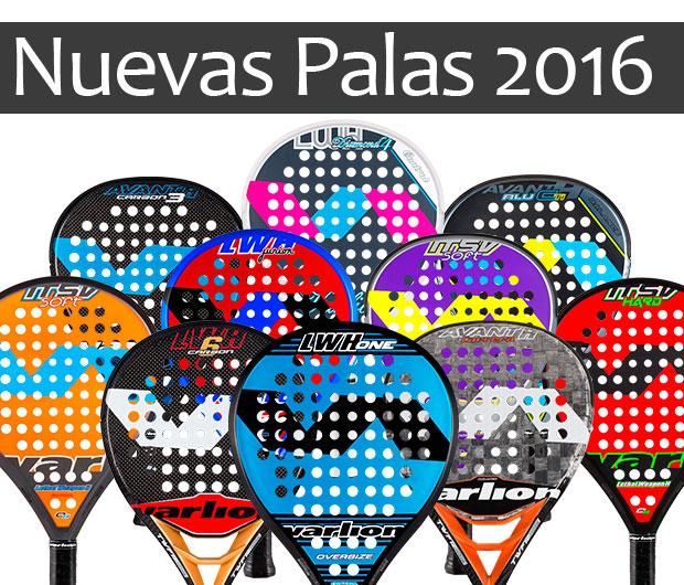 Nuevas palas de pádel Varlion 2016