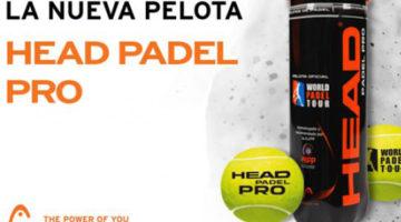 pelotas de pádel HEAD