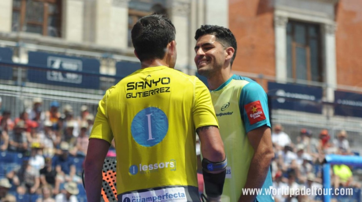 Sanyo Gutiérrez y Maxi Sánchez