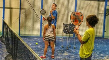 Padel para jugadores junior
