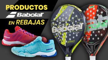 productos de pádel Babolat